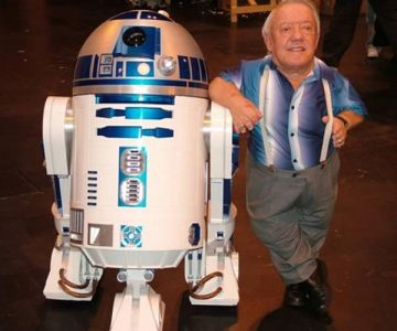Fallece el actor que dio vida a R2D2