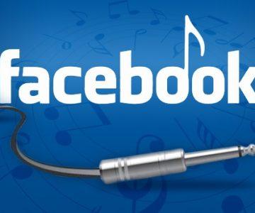 Facebook está intentando entrar en la industria de la música