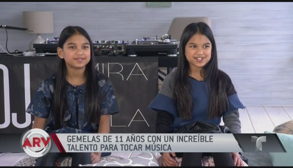DJs gemelas causan sensación