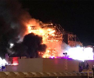 Desalojan a 22.000 personas por un incendio en el concierto Tomorrowland